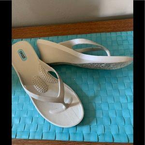 Oka-B Pearl Wedge Sandal - NWOT